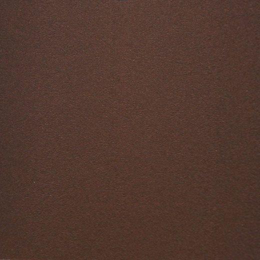 Cuivre rouge  proche RAL 7048 PMMA face extérieure