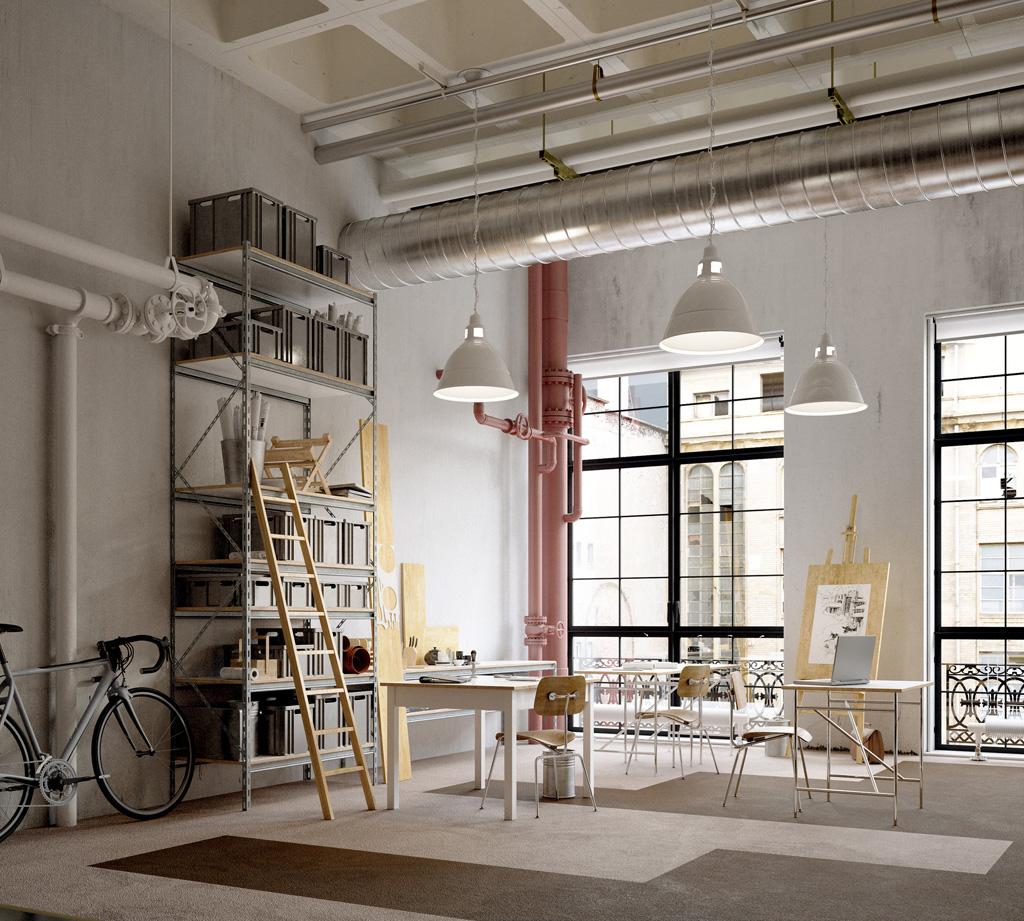 Pour un habitat au style industriel dans l'air du temps, adoptez la verrière !