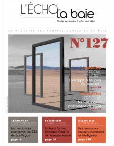 AVRIL 2020<br /> L'ECHO DE LA BAIE<br /> Nouvelle gammes de portes Prestige et Élégance AMCC