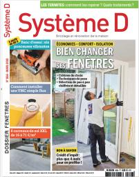 JANVIER 2019<br /> SYSTEME D<br /> Fenêtre A70 Elégance<br />